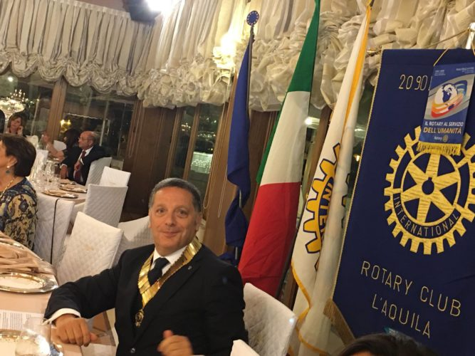 ROTARY CLUB L'AQUILA: UGO MARINUCCI ELETTO NUOVO PRESIDENTE