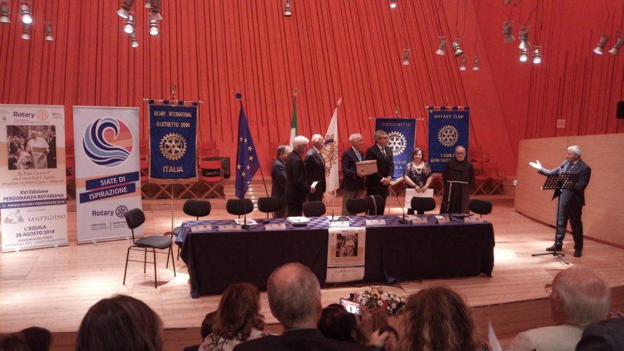 Consegnato il Premio Rotary Perdonanza alla Comunità di Sant'Egidio