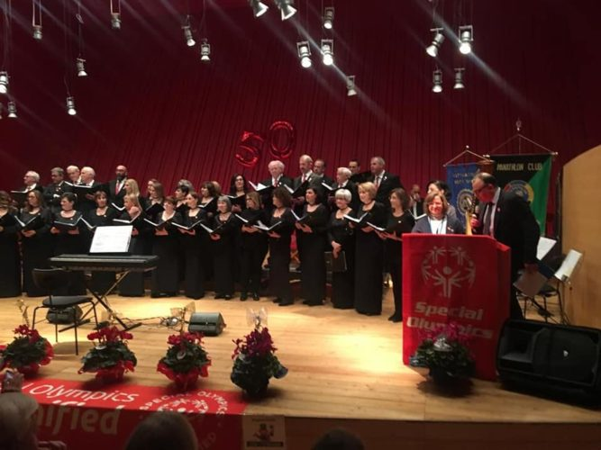 Il Rotary L'Aquila festeggia i 50 anni di Special Olimpics
