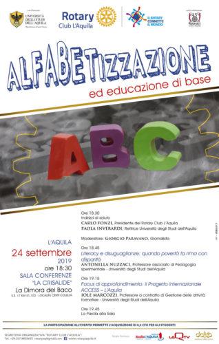 Alfabetizzazione ed educazione di base